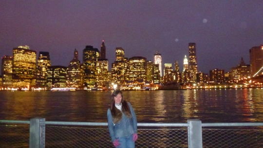 Skyline en Brooklyn Bridge Park